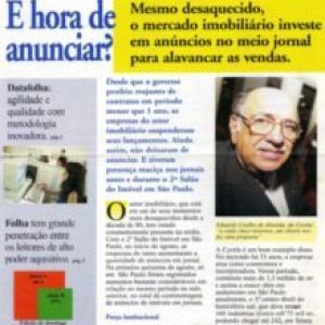 Caderno Imóveis Folha de São Paulo - Agosto de 1995